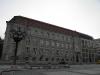 Berlyno - Brandenburgo mokslų akademija Berlyne. Dalis jos buvo sugriauta karo metu.