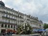 Montpellier-Monpeljė. Place de la Comédie. Trys gracijos